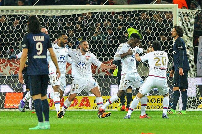 Ligue 1 : Lyon fait tomber Paris