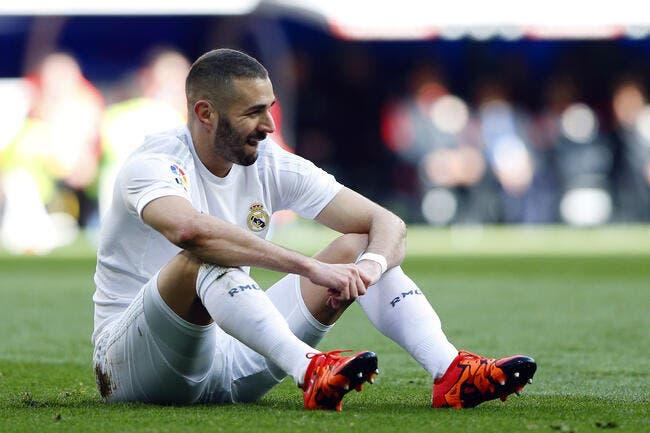 Real Madrid : Karim Benzema absent jusqu'en avril ?