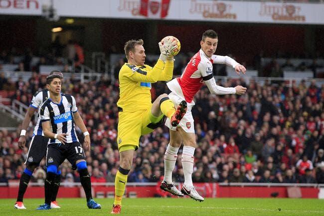 Arsenal - Newcastle : 1-0