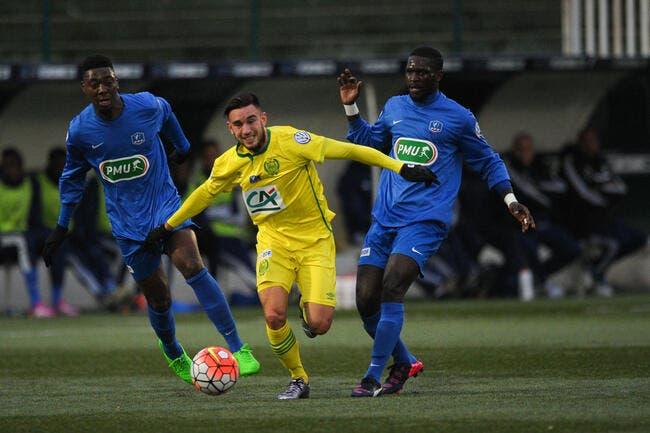 Blanc Mesnil - Nantes : 0-2