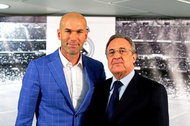 La première réaction de Zidane, entraineur du Real