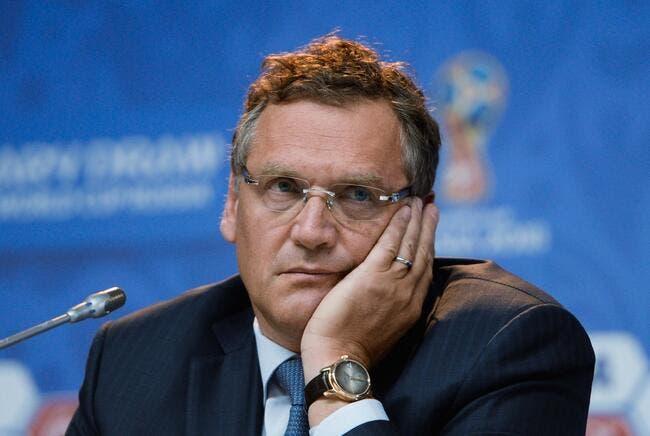 FIFA : Une suspension de 9 ans réclamée contre Valcke