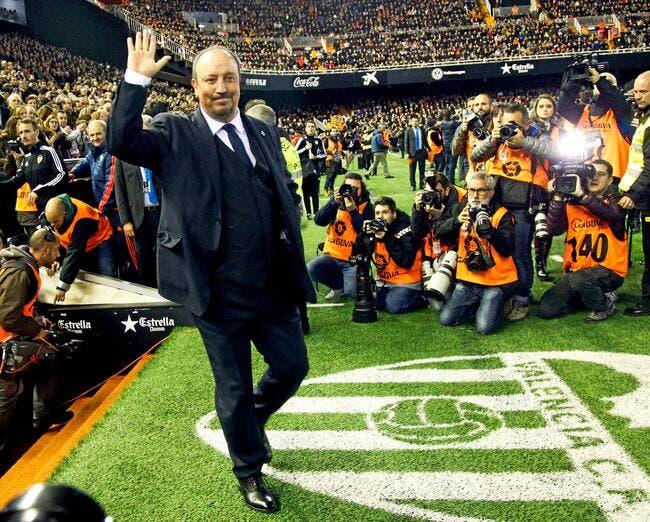 Le départ très classe de Benitez du Real Madrid