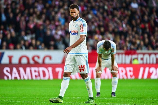 TFC-OM, un joueur marseillais a la rage contre Toulouse