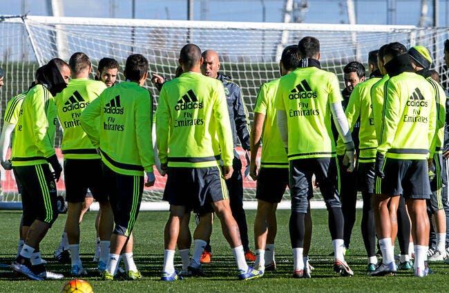 Zidane : «Mon objectif au Real Madrid, c'est de tout gagner»