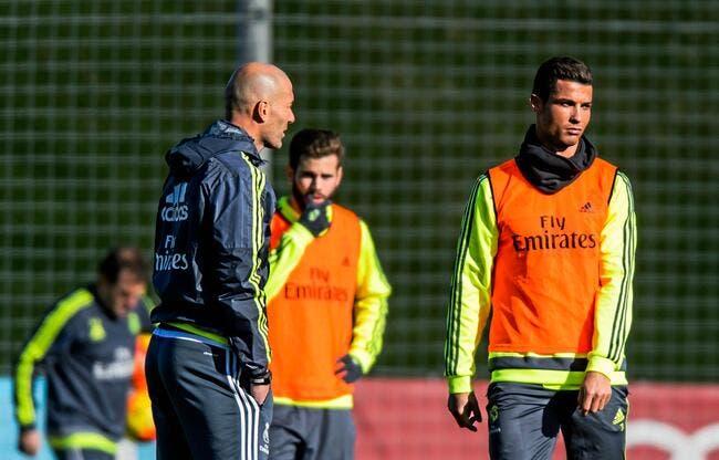 Avec Zidane, Cristiano Ronaldo fera moins le malin