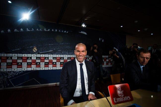 Zidane fait une anti-Mourinho salariale au Real Madrid