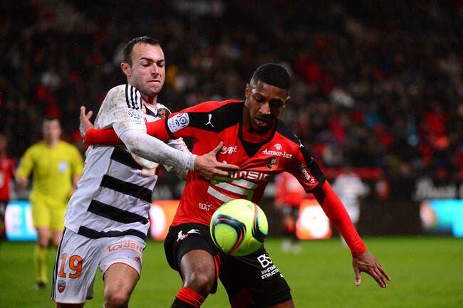 Lorient repart de Rennes avec des regrets
