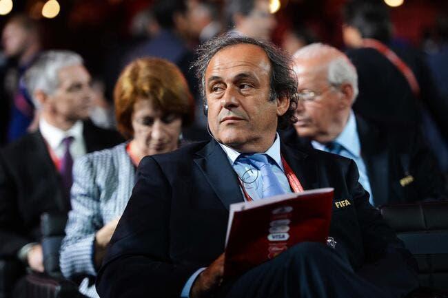 Platini fera appel lundi de sa suspension de 8 ans
