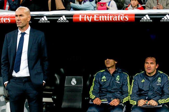 Zidane est content de SON Real Madrid