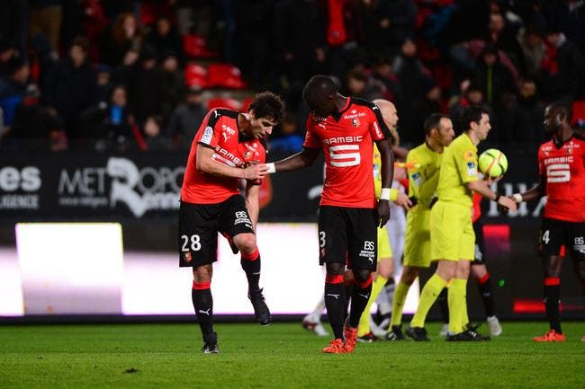 Yoann Gourcuff absent plusieurs jours avec Rennes