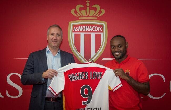Officiel : Vagner est le nouveau n°9 de l'AS Monaco