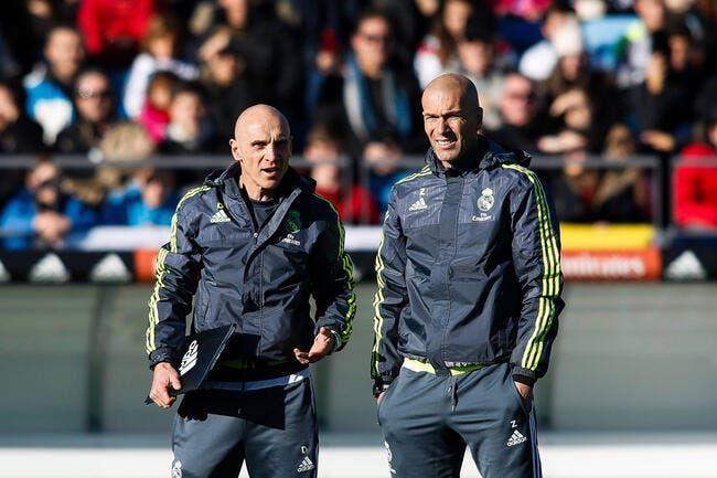 L'adjoint de Zidane fait polémique, le Real Madrid intervient