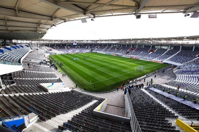 Photo : Le Stadium de Toulouse est prêt pour l'Euro