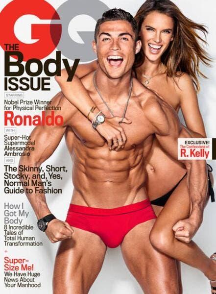Cristiano Ronaldo n'a pas le Ballon d'Or, mais il a un slip rouge...