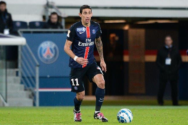 Angel di Maria élu joueur de décembre en Ligue 1