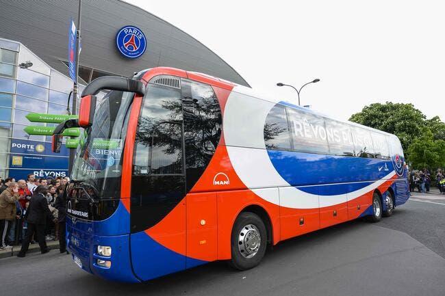 Le PSG blinde son bus pour éviter aussi les attaques terroristes