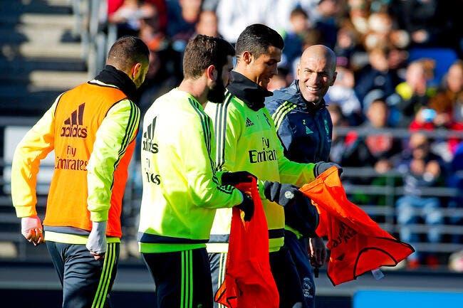 Cristiano Ronaldo préfère Zidane à Benitez et assume