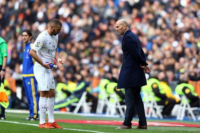 Zidane exige Benzema avec la France à l'Euro