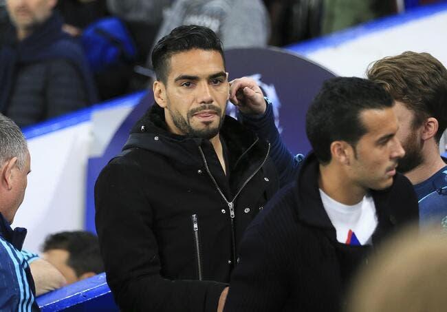 Chelsea insiste pour renvoyer Falcao à Monaco