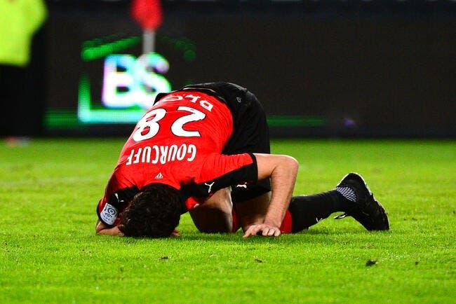 Gourcuff encore forfait avec Rennes