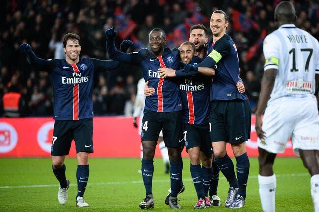 Le PSG régale, Angers paie l'addition