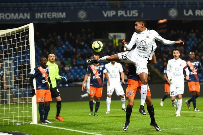 Montpellier perd à cause de l'arbitre accuse Dabo