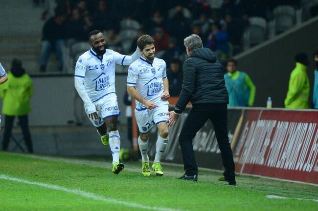 Troyes gagne enfin et ne souhaite pas s'arrêter là