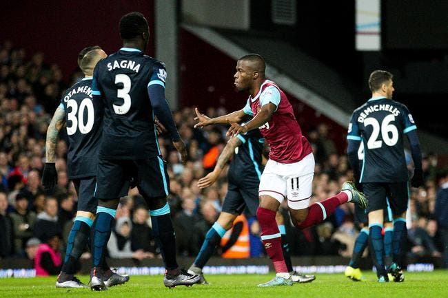 West Ham - Manchester City : 2-2