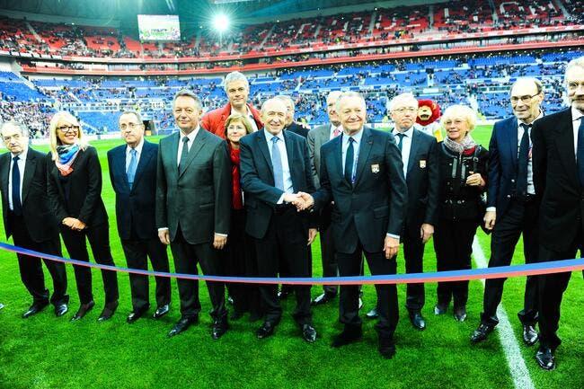 Aulas paie son scoop sur le naming du Parc Olympique Lyonnais