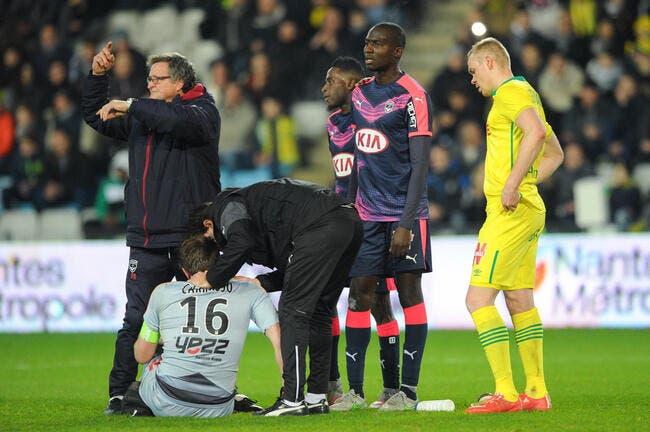 Carrasso passera une IRM lundi annonce Bordeaux
