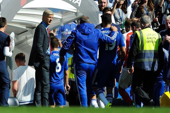 La mauvaise foi de Wenger avec Diego Costa