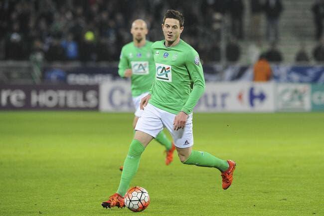 Nolan Roux refuse finalement Lille..pour rester à l'ASSE !