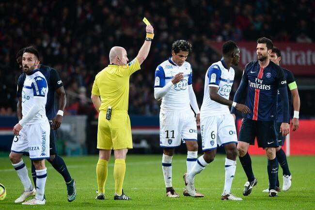 Bastia remonté contre l'arbitrage avant de jouer l'OL
