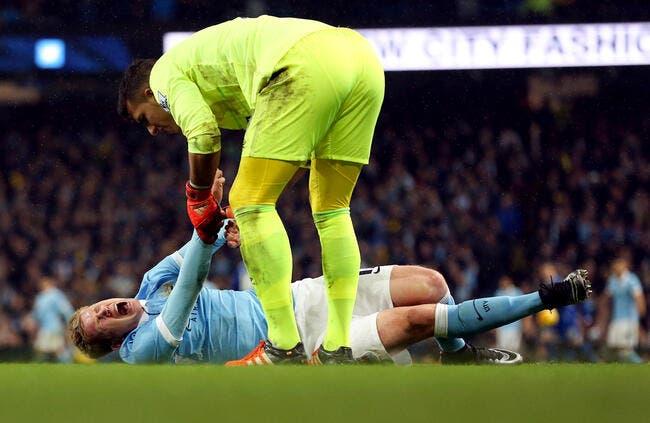 Man City perd De Bruyne pour au moins 6 semaines