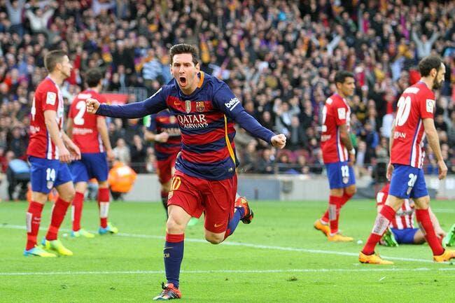 Barcelone avoue en avoir bavé contre l'Atlético