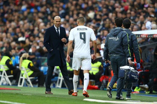 Benzema débarrassé de l'affaire Valbuena ? Zidane est confiant