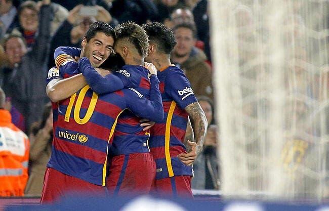 FC Barcelone - Atlético Madrid : 2-1