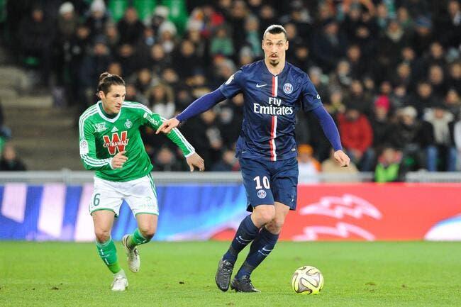Le PSG au Chaudron, Ibrahimovic boue d'impatience