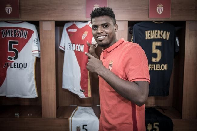 Officiel : Jemerson signe à Monaco jusqu'en 2020