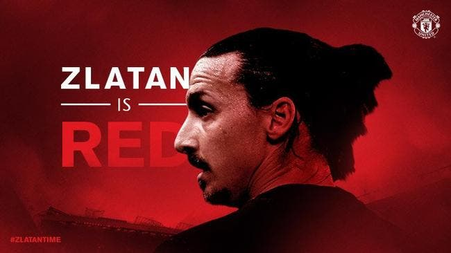 Officiel: Zlatan Ibrahimovic signe à Manchester United