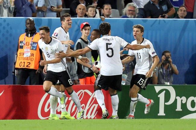 Euro 2016 : L'Allemagne s'en tire... au but