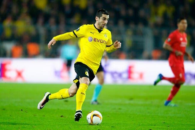 Mercato : Mkhitaryan quitte Dortmund pour Man Utd