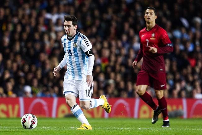 Argentine : Les larmes et la retraite, Cristiano Ronaldo a mal pour Messi