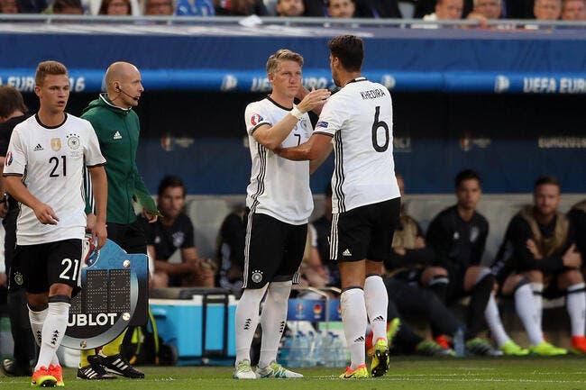 Euro 2016 : L'Allemagne sans Khedira et Hummels en demi-finale