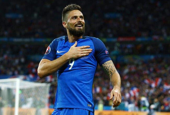 France : Le 4-2-3-1 avec Griezmann en 10, Giroud en est fan