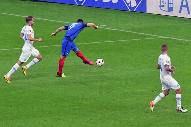 Les notes de France – Islande: Giroud au top, Evra en flop