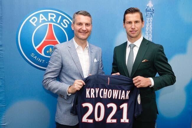 Officiel : Gregorz Krychowiak au PSG jusqu'en 2021 !