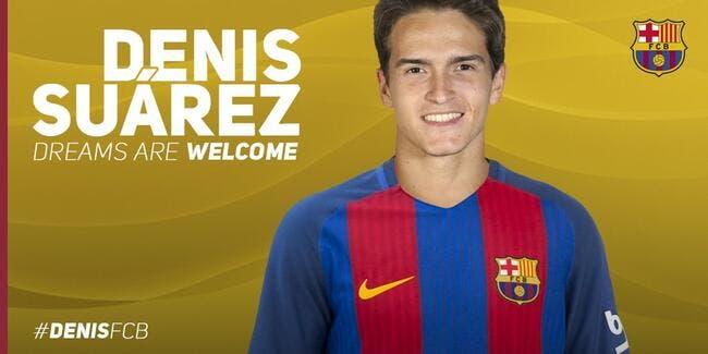 Mercato : Denis Suarez pour 4 ans au Barça