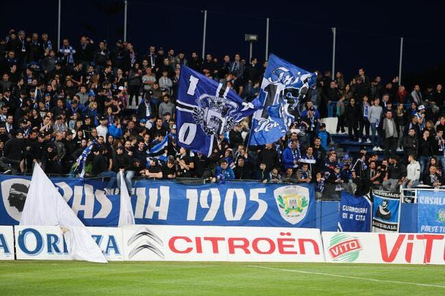 DNCG : Bastia reste en L1, Evian rétrogradé en CFA